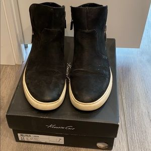 Kenneth Cole zip up sneakers